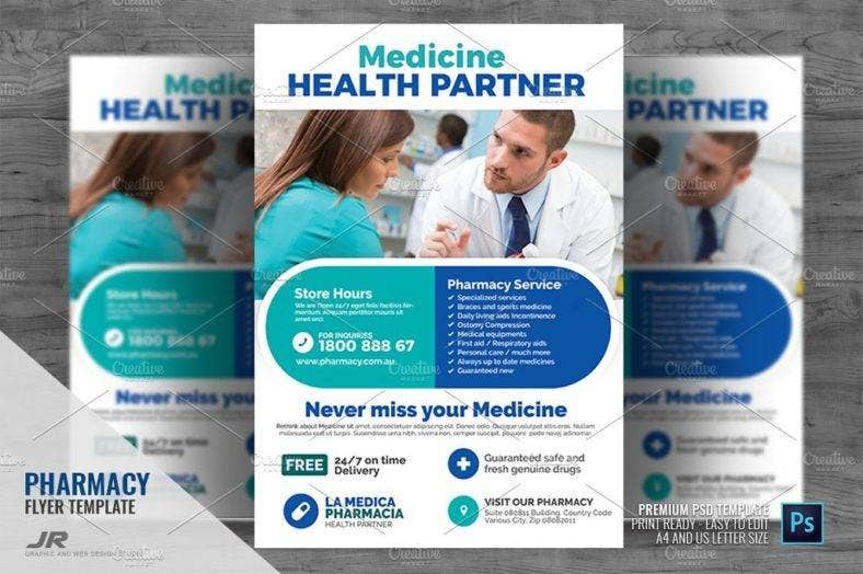 pharmacy-and-drug-store-flyer