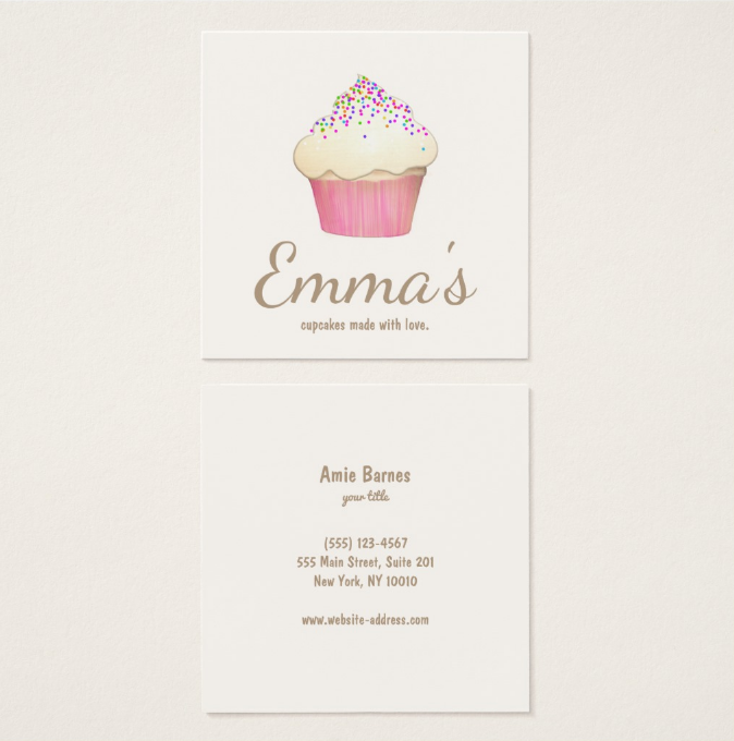 square-cupcake-business-card
