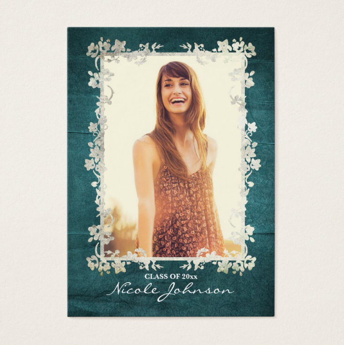 vintage-floral-senior-rep-card-template