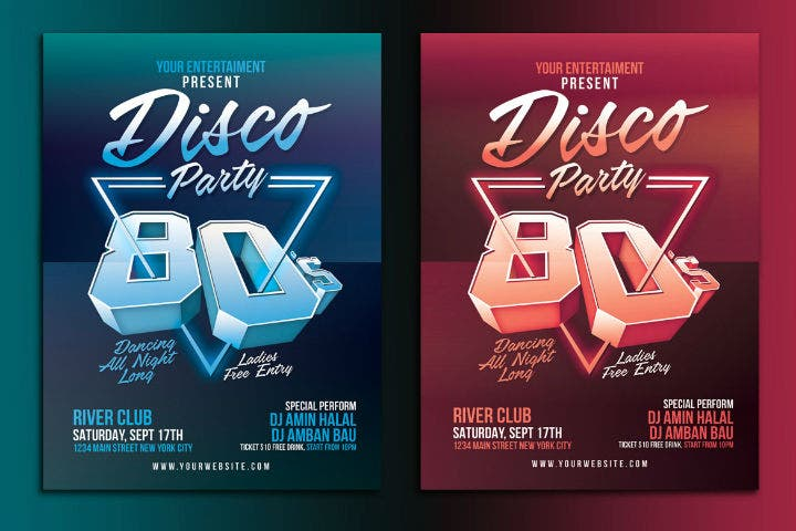 80s-disco-party-flyer-invitation-template