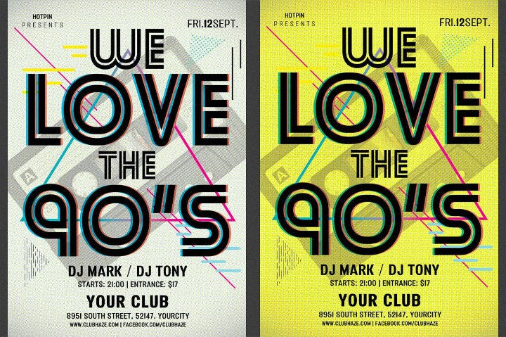 90s-retro-dance-party-flyer-invitation-template