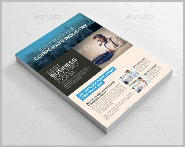 Accounting Finance Industry Flyer Template