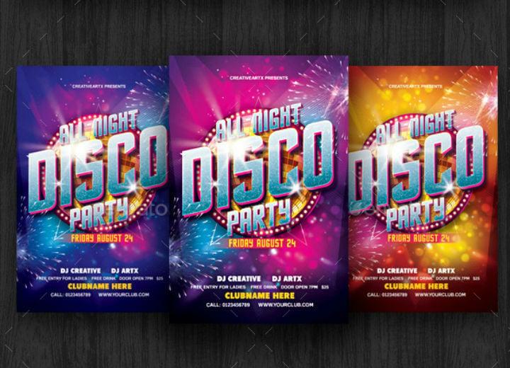 all-night-disco-party-invitation-template