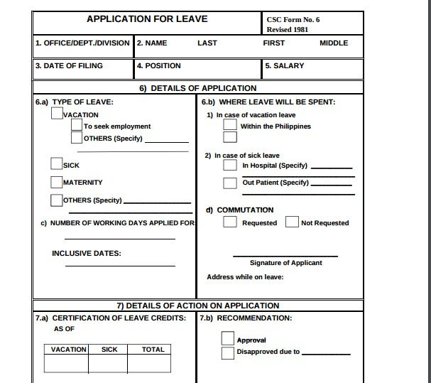 Application-For-Leave Earn Leave Application Format In Word on form format, leave office early day, leave of absence format, business letter format, white paper format, brief format, leave letter format, leave request,