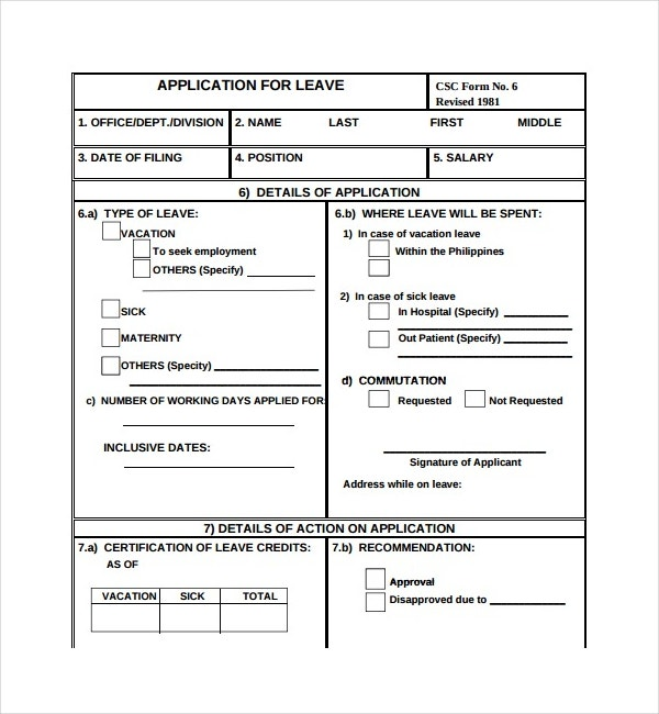 application for leave1