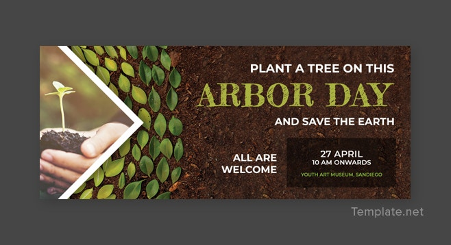 Arbor Day Facebook Cover