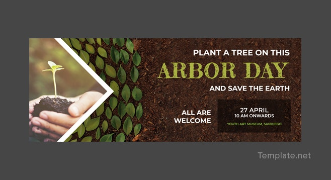 Arbor Day Facebook Event Cover