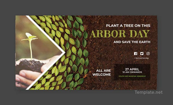 Arbor Day Facebook Post