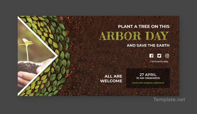 Arbor Day LinkedIn Company Cover