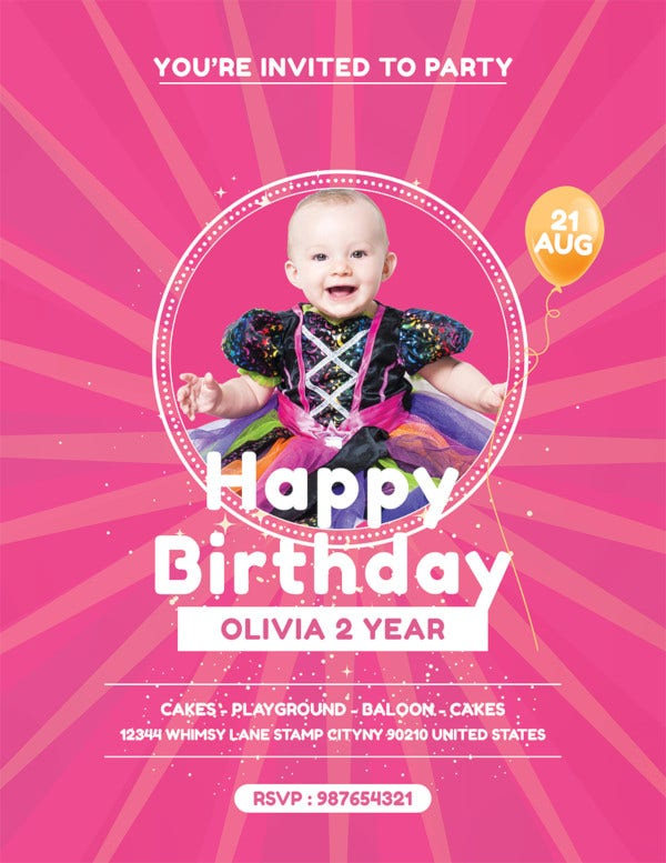 40 birthday flyer templates psd ai vector eps free premium