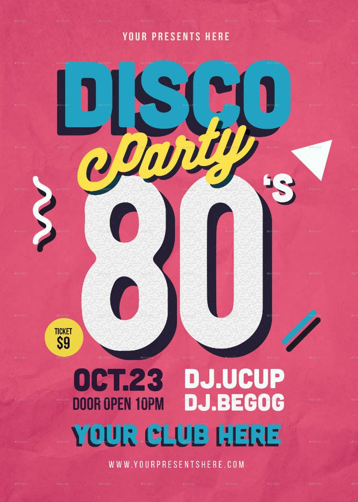 bold-typography-disco-party-flyer-invitation-template