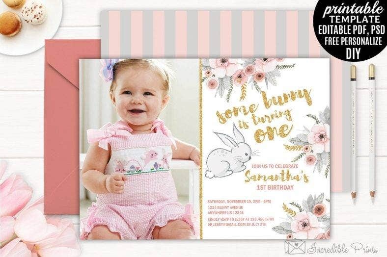 bunny_first_birthday_invitation