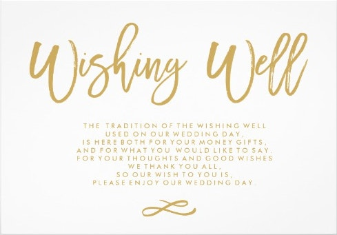 chic-hand-lettered-gold-wedding-wishing-well-card