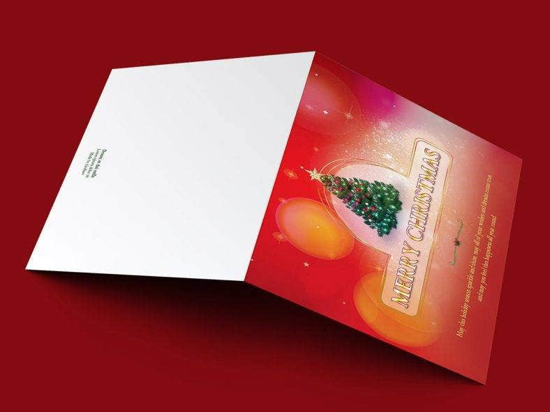 christmas greeting card template 788x591