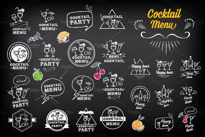 cocktail-happy-hour-menu-doodle-template