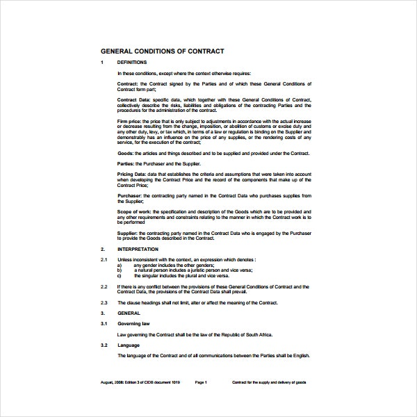 7  supplier agreement templates