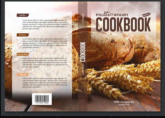 Cookbook Cover Design