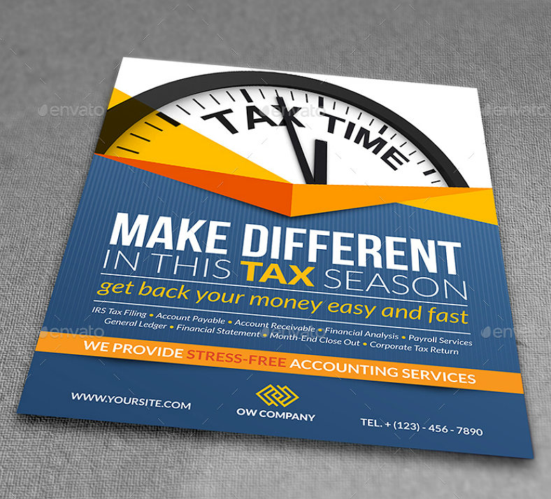 Creative Accounting Services Flyer Template