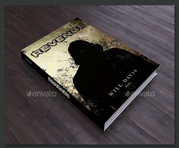 Creative Silhouette Book Cover Template