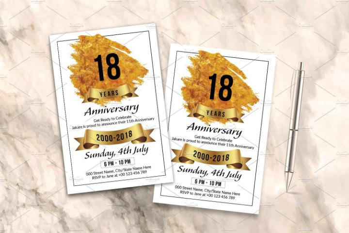 customizable-50th-wedding-anniversary-invitation-template