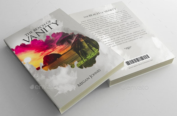 Customized Book Cover Template