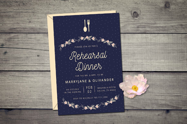 dotted-wedding-rehearsal-dinner-invitation-template