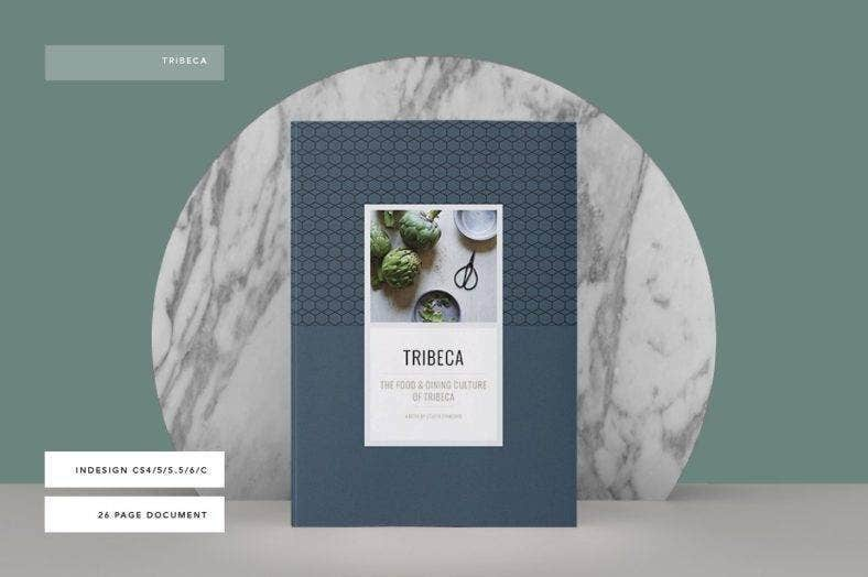Elegant Cookbook Cover Template