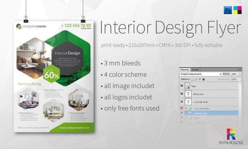 elegant-interior-design-flyer