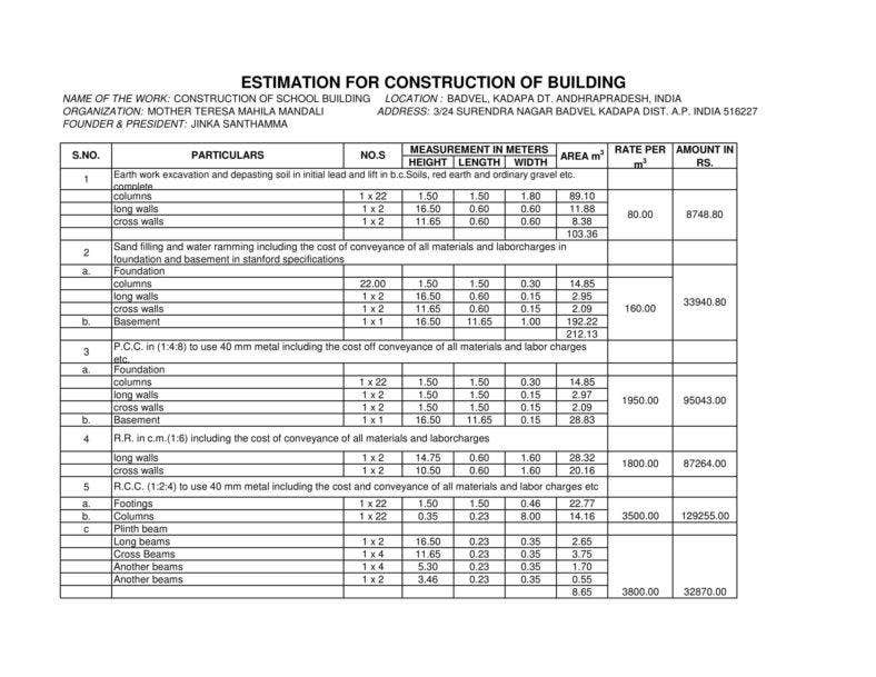 estimation-for-construction-of-school-1