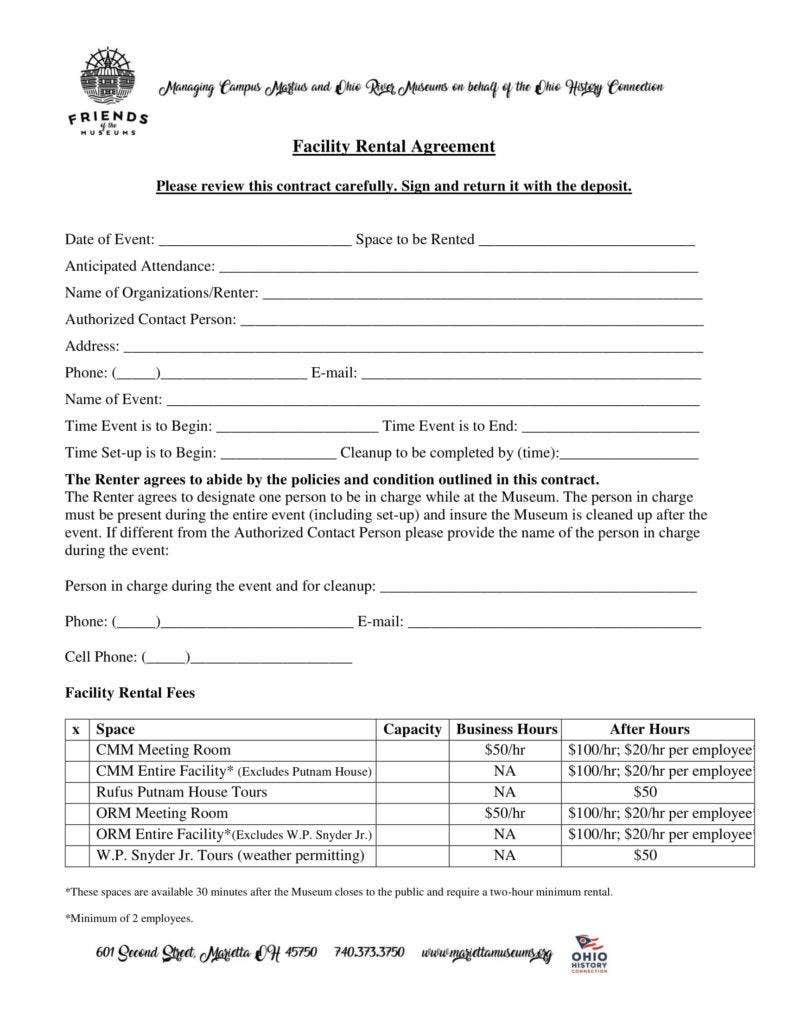 facility rental agreement form 1 788x1020