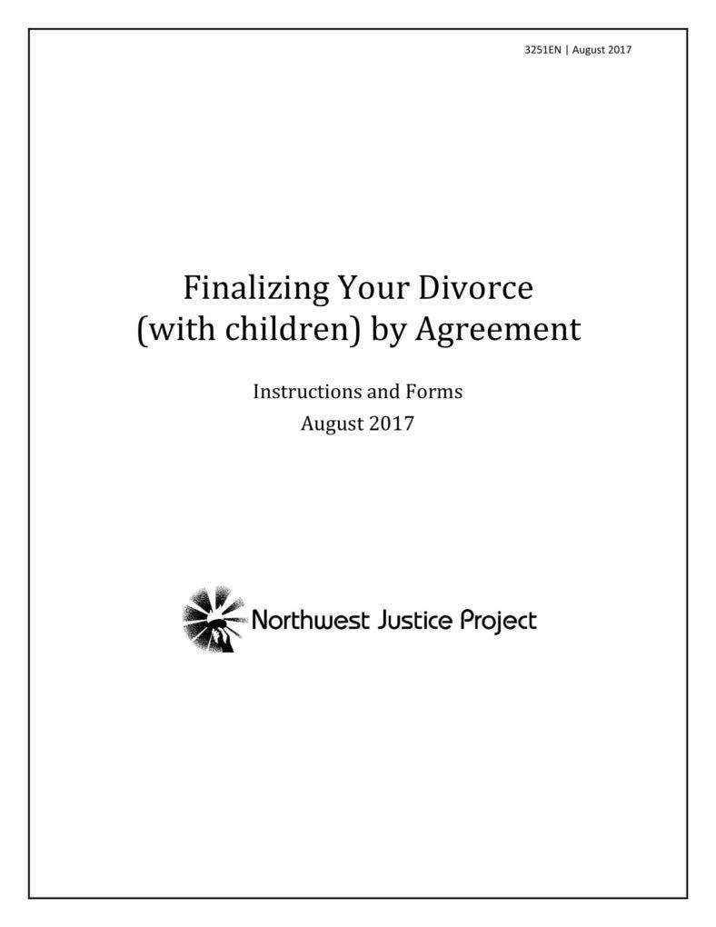 Finalizing Divorce with Kids by Agreement