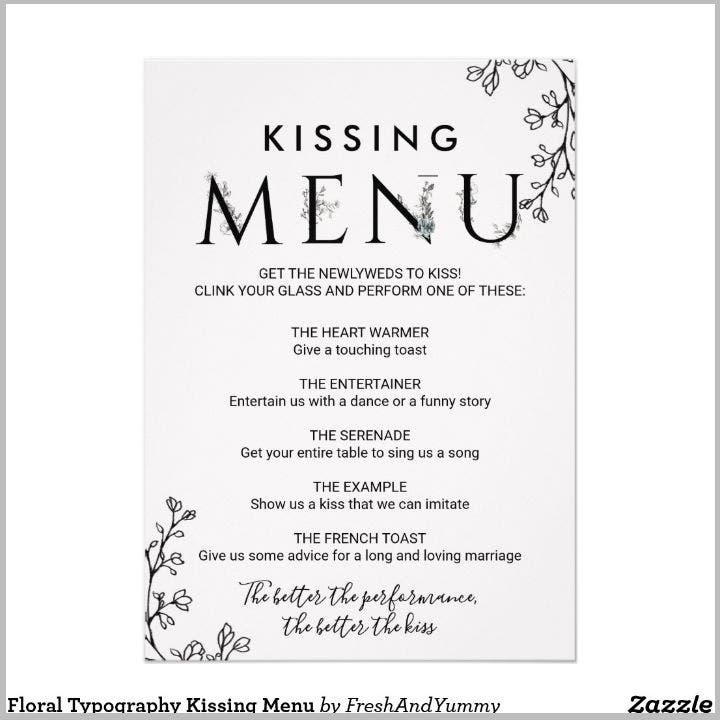 floral-typography-kissing-menu-card-template