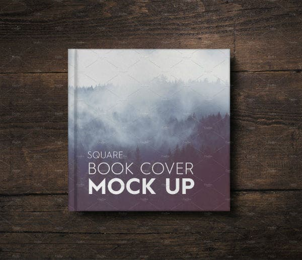 Foggy Woods Creative Book Cover Template