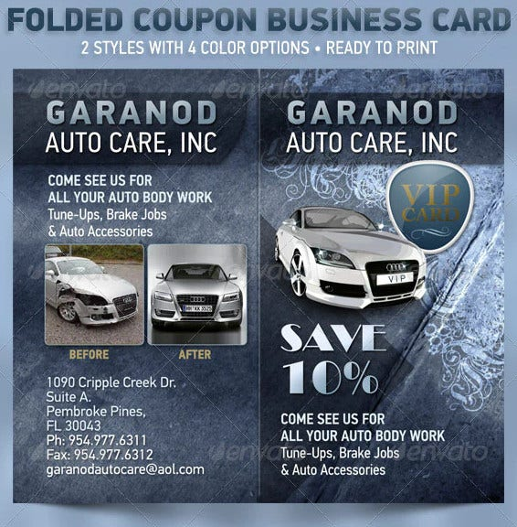 folded coupon card template2