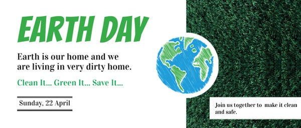 free-earth-day-linkedin-profile-banner-template