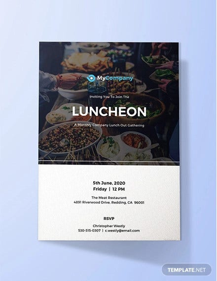 free luncheon invitation template1