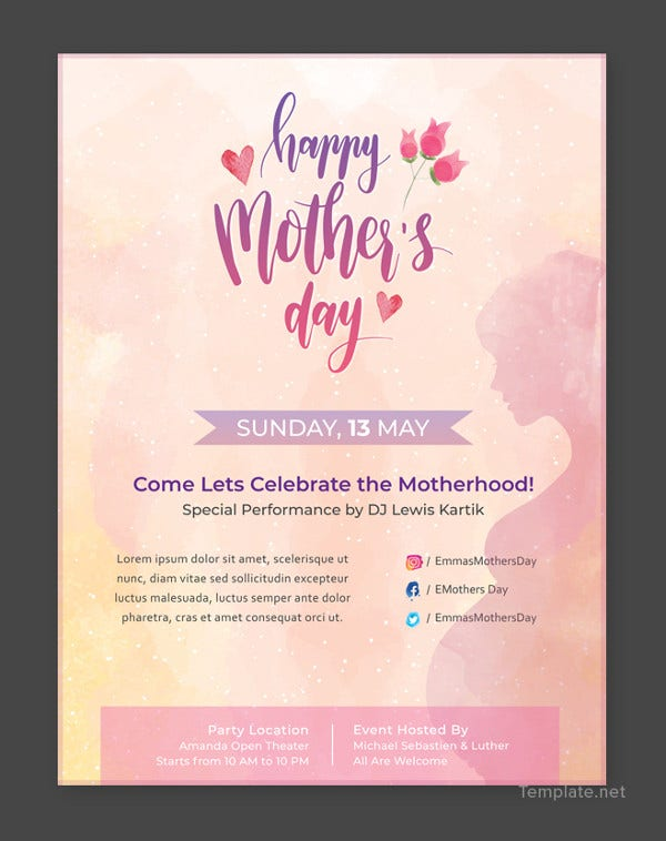 Free Mother's Day Poster
