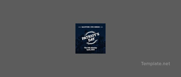 free-patriots-day-instagram-profile-photo-template