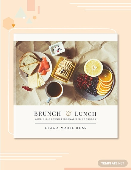 free photo cookbook cover template1