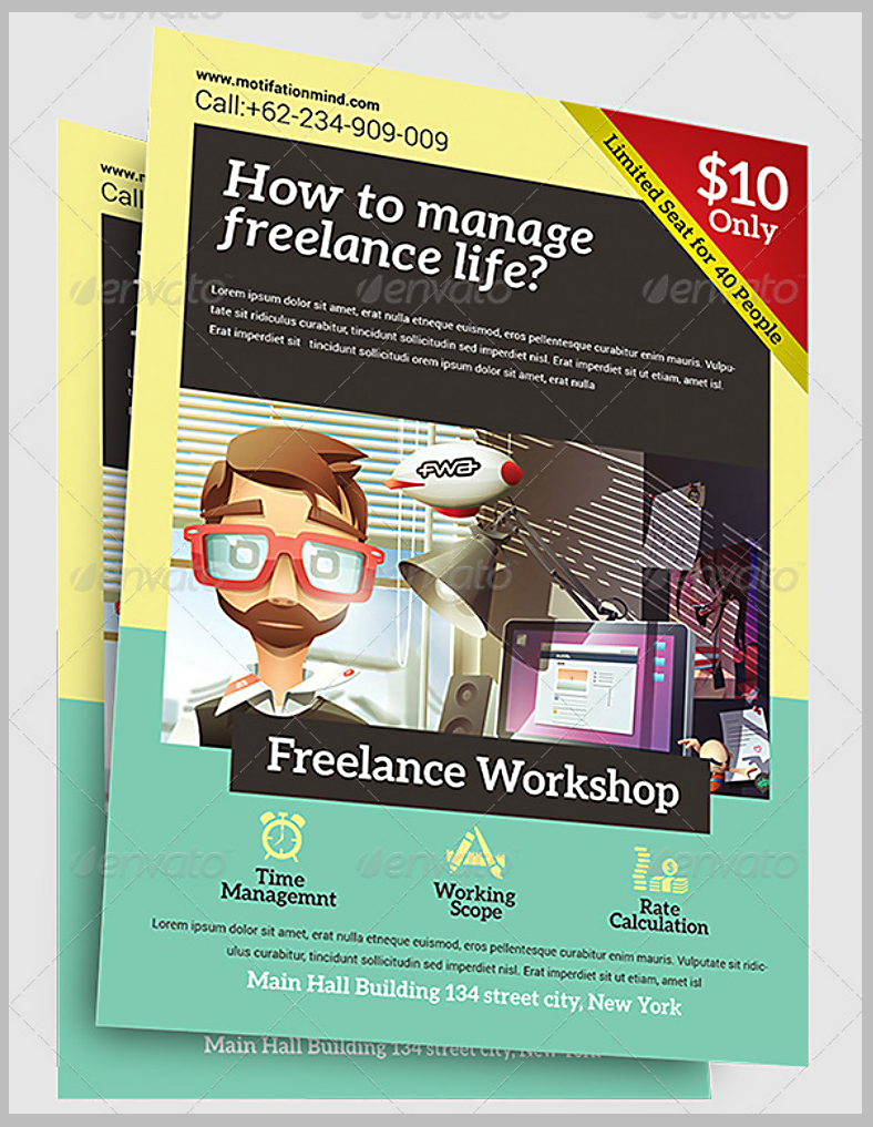 14 workshop flyer designs templates psd ai free premium freelancer workshop flyer template saigontimesfo