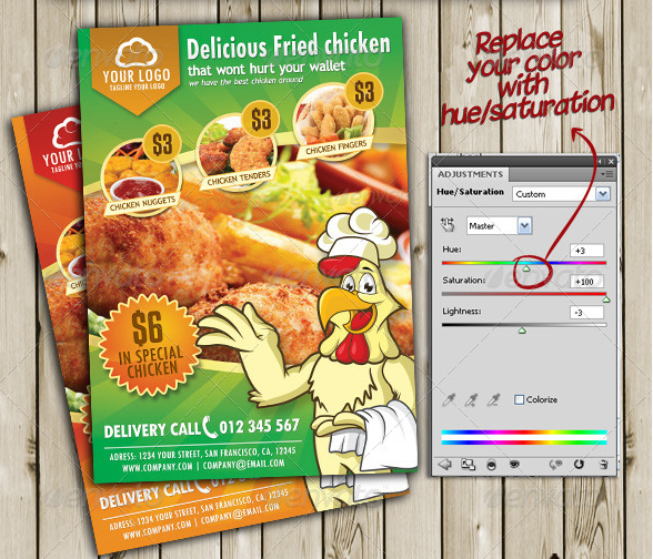 fried_chicken_flyer_menu