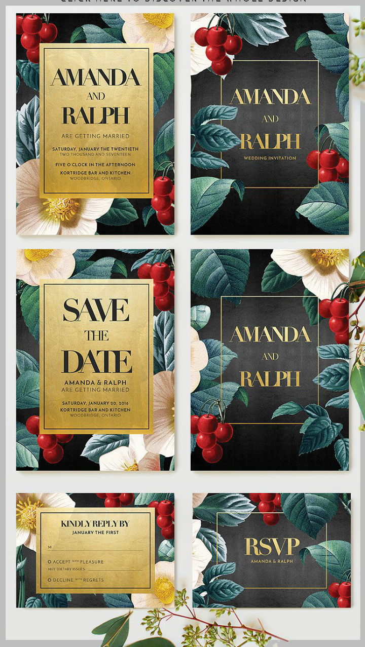 gold-floral-romantic-wedding-invitation-template