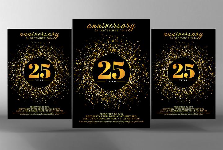 gold-specks-50th-wedding-anniversary-invitation-template