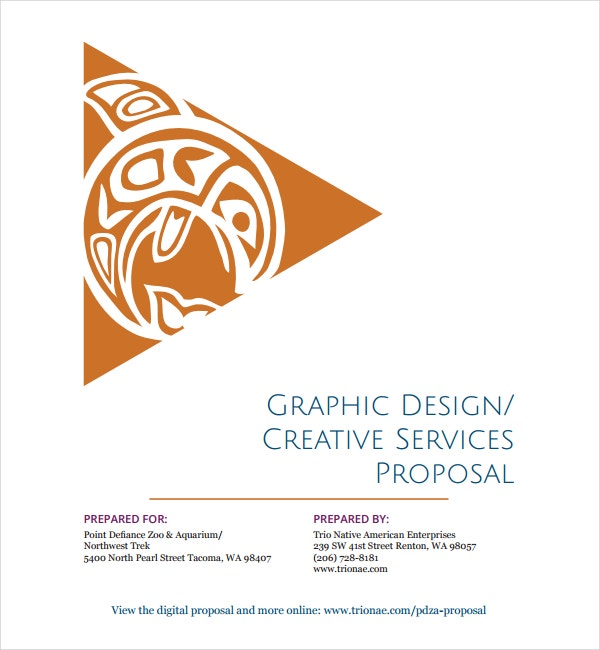 Graphic Design and Creative Services Proposal