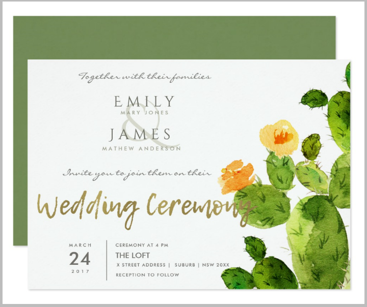green-watercolor-cactus-desert-wedding-card-template