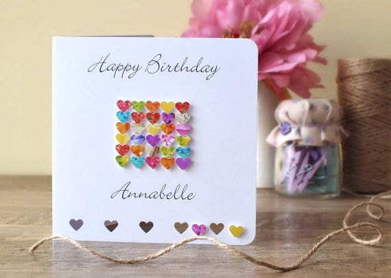10 Birthday Cards For Sister Designs Templates PSD AI