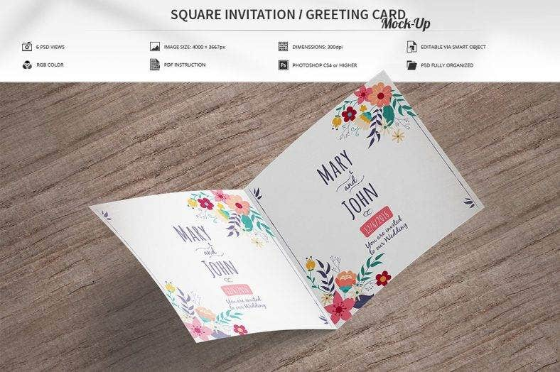 invitation greeting card mock up 788x524