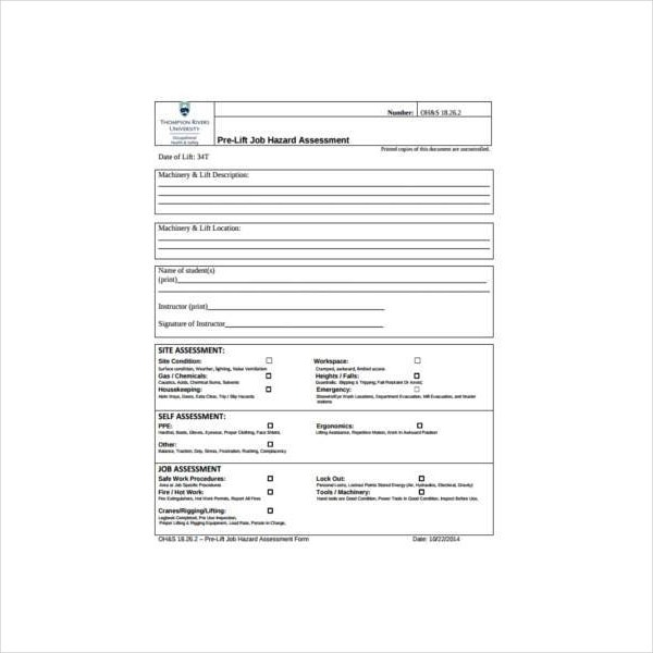 job hazard assessment form1