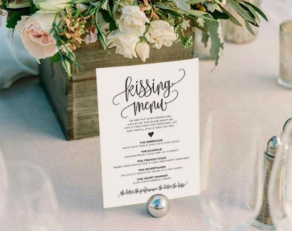 kissing menu featured img