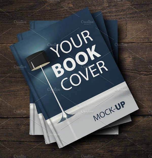 Lampshade Creative Book Cover Template